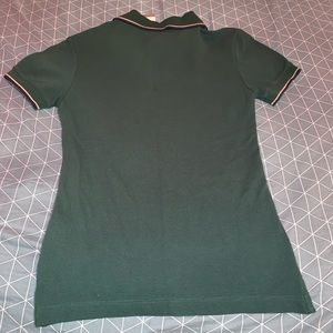 Tri-Mountain Tops - Forest Green Ribbed Polo